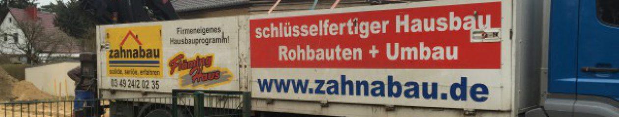 Bautagebuch Musterhaus Zahnabau Zeuthen