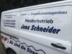 Anlaufberatung Elektro Meisterbetrieb Jens Schneider zahnabau