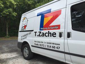 Anlaufberatung Sanitär / Heizung Firma Zache zahnabau