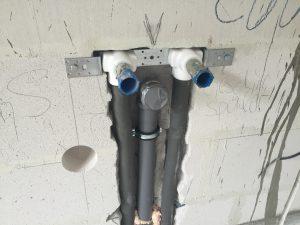 Rohrleitung verlegen zahnabau